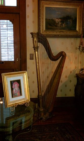 Amsterdam's Curry Mansion Inn:                   Music Room