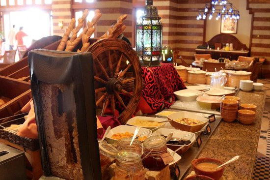 Four Seasons Resort Sharm El Sheikh:                   Detail on breakfast