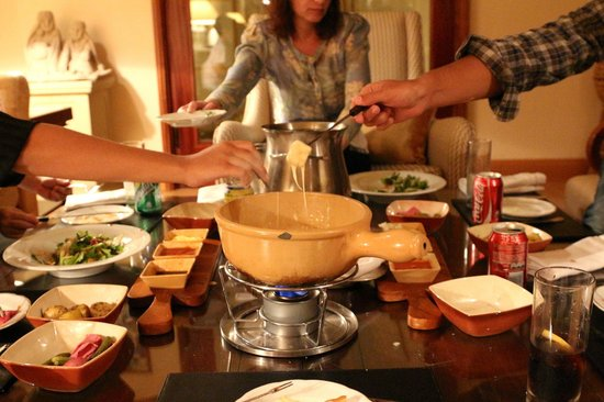 Four Seasons Resort Sharm El Sheikh:                   Fondue