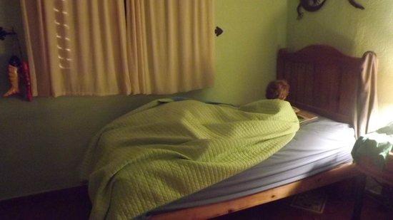 Chan Chemuyil Vacation Rental:                   Chambre avec 2 lits simples - Casa de la Paz