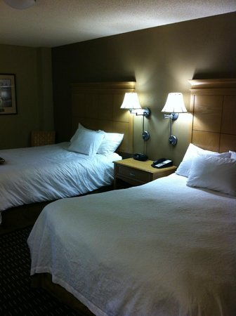 Hampton Inn & Suites Albany - Downtown: A picture of the two beds