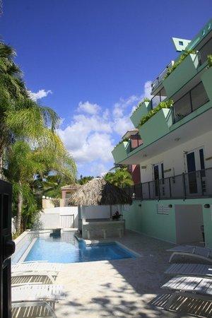 Casa Verde Hotel: Pool Area