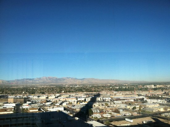 Stratosphere Hotel, Casino and Tower:                   View from 21st Floor of the Stratosphere