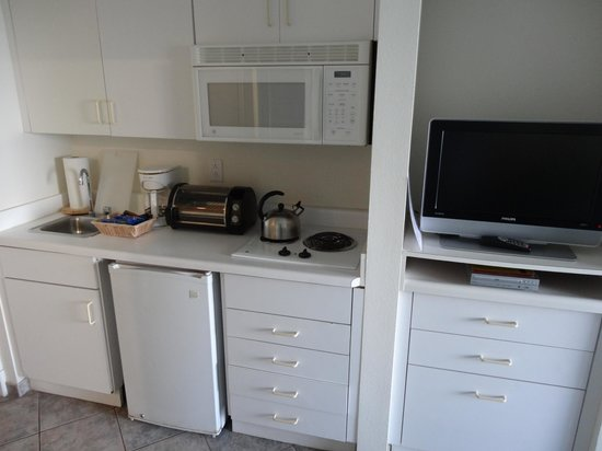 Oyster Bay Beach Resort : Great kitchen area