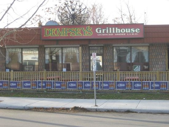 Dempsey's Bar & Grill : New Owner, updated look,, and great patrons