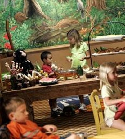 Enjoying our seasonal kids buffet Picture of Islands Dining Room