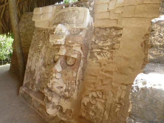 Quintana Roo, Mexico:                   One of the five masks
