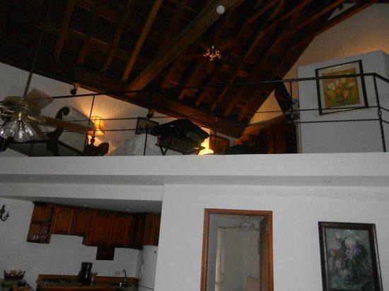 Alfiz Hotel :                   Top floor of our suite (2 twin beds)