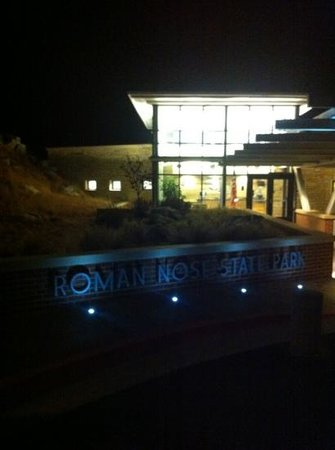 Roman Nose State Park:                                     night time