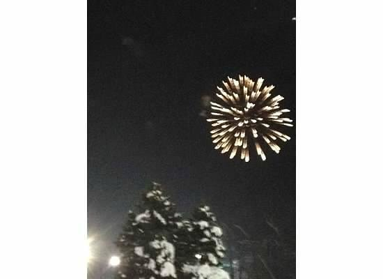 Cascade Mountain: Fireworks on New Year's Eve