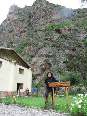 Apu Lodge: VISTA DESDE EL JARDIN