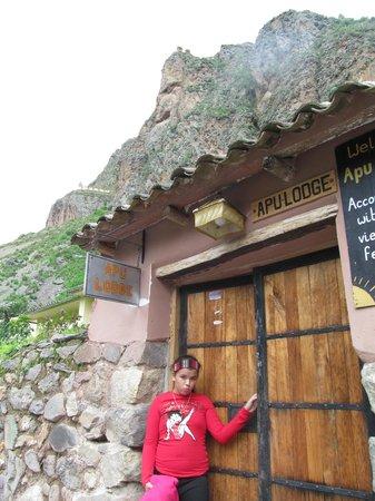 Apu Lodge: ENTRADA AL HOTEL