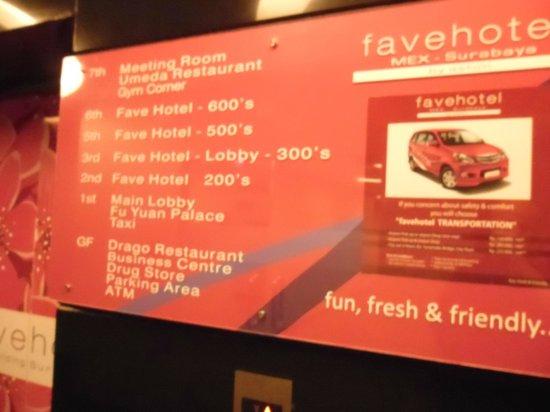 favehotel MEX Surabaya: 6th Floor Elevator Lobby