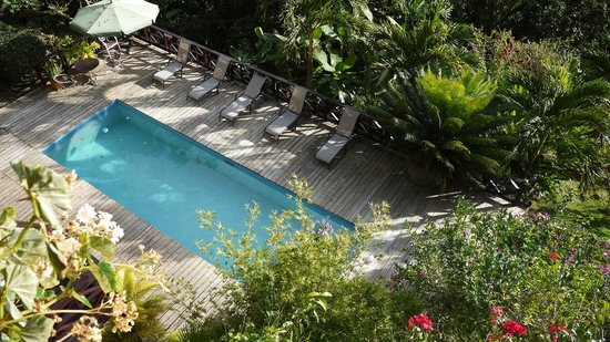Villa Pomme d'Amour:                   the pool