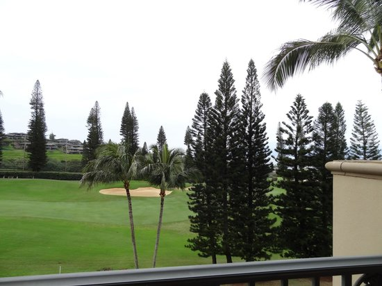 The Ritz-Carlton, Kapalua:                   view from room