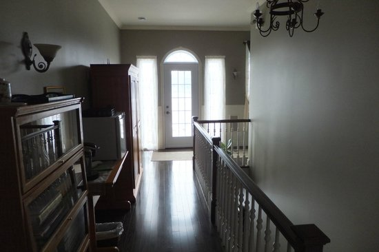 Nature et Pinceaux : À l'étage des chambres