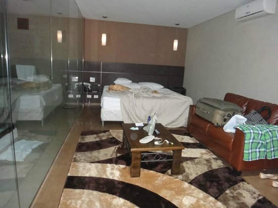 Hotel Foz do Iguacu:                   Visao geral do quarto
