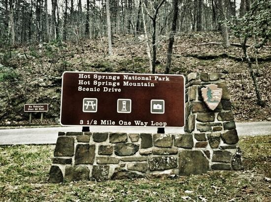 Hot Springs National Park:                   Scenic Loop