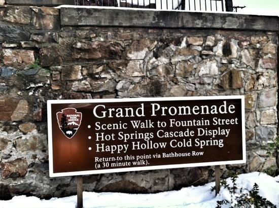 Grand Promenade:                   sign