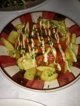 Pickled Pig:                                                                         side dish of chips with