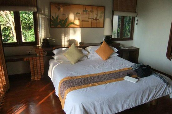 Pimalai Resort and Spa:                   Our beautiful room, with the afternoon sun shining through.