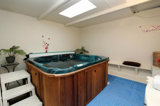 Bay of Islands Country Lodge Motel: Spa Pool