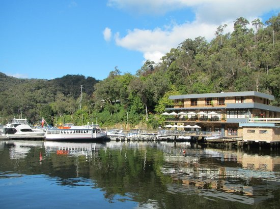 Berowra Waters Fish Cafe:                   The scenic view