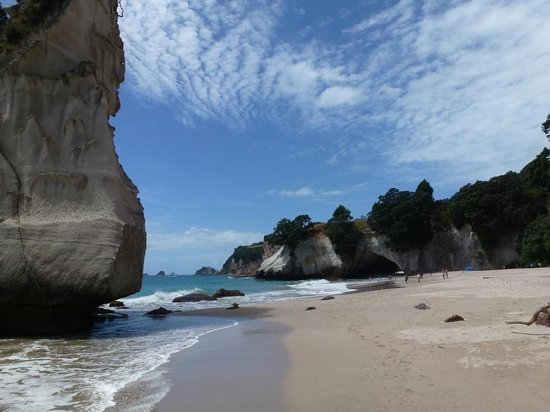 Hawleys B & B Hahei:                   Cathedral Cove - just beautiful