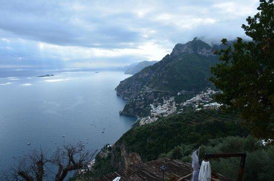 Garbo Limousine Service Tours:                                     View from Fattoria La Tagliata of the Amalfi Coast