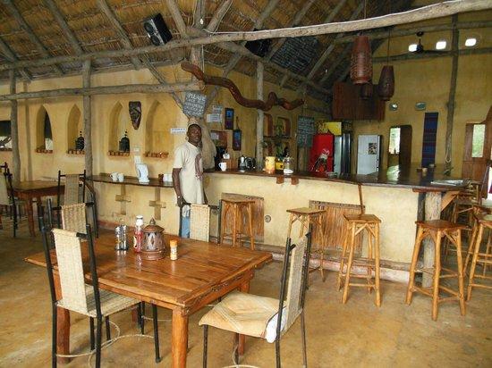 Turtle Cove Bar & Restaurant : Bar area