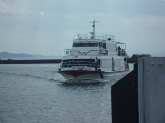 Biwako Kisen Chikubu Island Tour Boat :                   竹生島遊覧船02