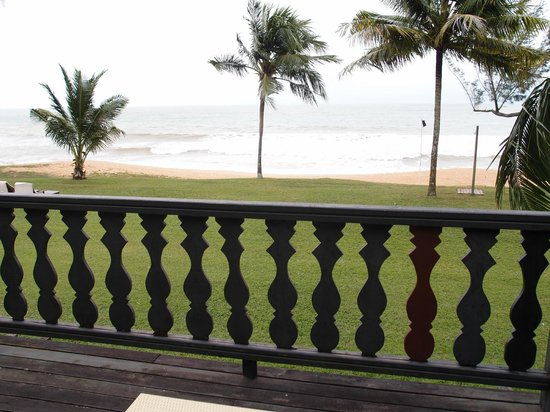 Club Med Cherating Beach:                   spacious balcony