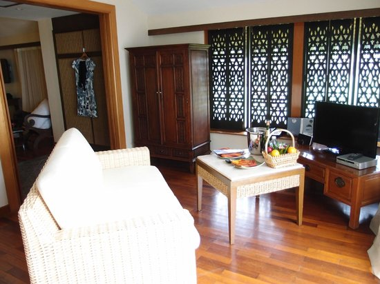 Club Med Cherating Beach:                   spacious sea view suite