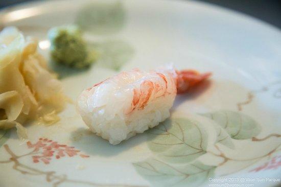 Sushi on the Run: Amaebi - Sweet Shrimp