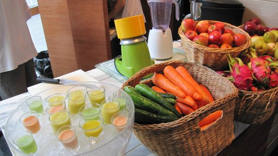 Sofitel Bangkok Sukhumvit:                   Petit déjeuner