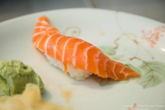 Sushi on the Run: Salmon