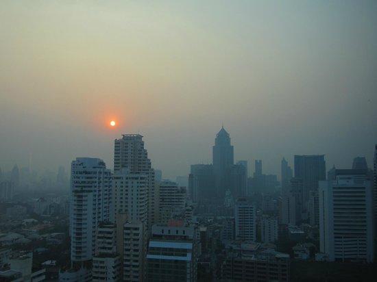 Sofitel Bangkok Sukhumvit:                   Vue de la chambre