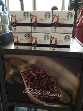 Starbucks: pike place roast