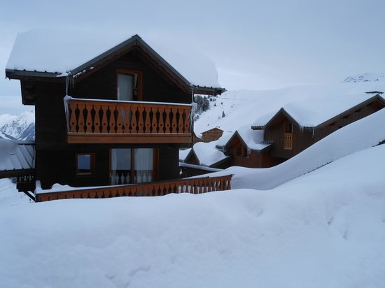 Chalet India :                   one of the skifrance chalets