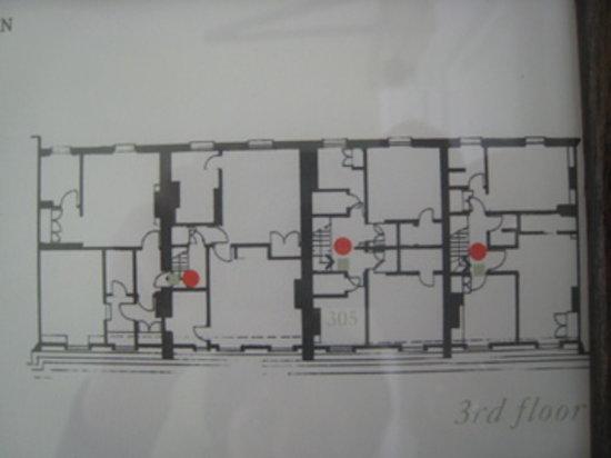 Number Sixteen:                   3rd floor