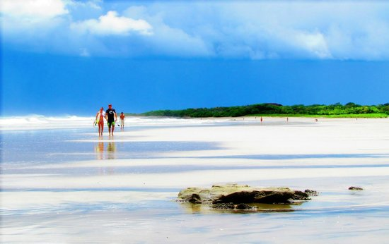 Playa Avellanas, คอสตาริกา:                   Playa Avellanes