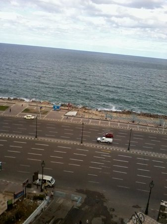 El Mahrousa Navy Guest House:                   the sea from our room