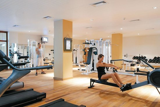 Victoria Beachcomber Resort & Spa: Sport land musculation - Le Victoria