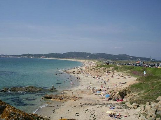 O Grove, Spain:                                     Playa Lanzada