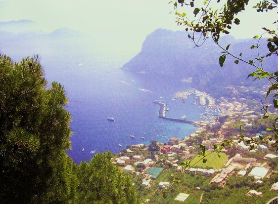 Villa San Michele : l'île de Capri,