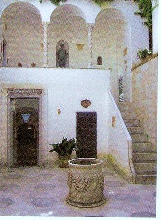 Mezzanine, villa San michele