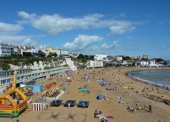 Broadstairs, UK:                   Viking Bay