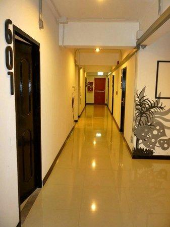 SOHOstel:                   the Corridor