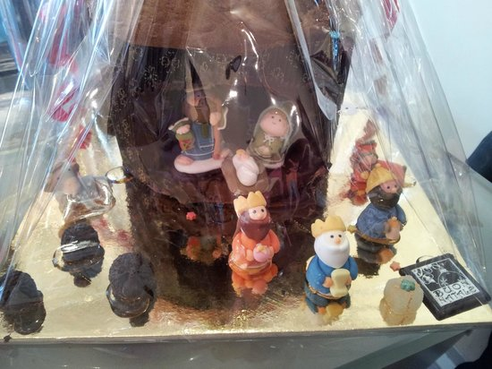 Gelateria Golosi di Natura:                   Favolosa Vetrina natalizia!!!