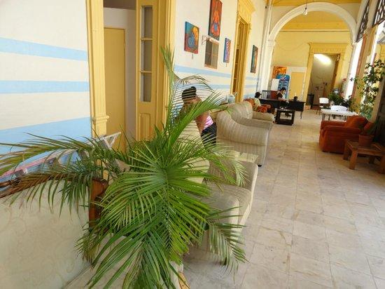 Hostal Zocalo: pasillo